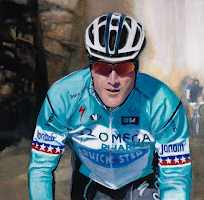 Tom Montan, cycle racing portrait