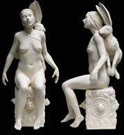 Tricia Cline, figurative ceramic sculpture, porcelain