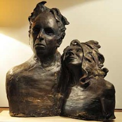 Alessandra Spigai, figurative sculpture from Italy