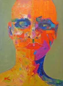 colorful figurative painting