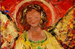 Chantal Littleton, painting our guardian angels