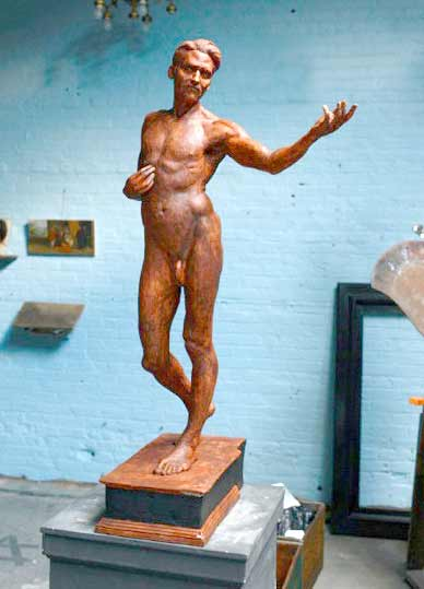 Charlie-Mostow-Good-sculpture-man