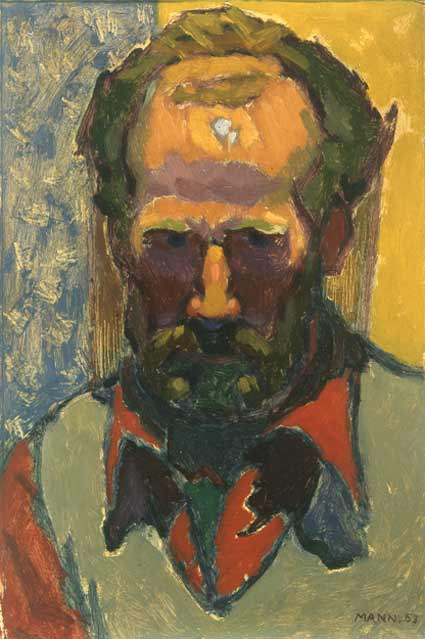 Cyril-Mann-Self-Portrait-Red-Shirt