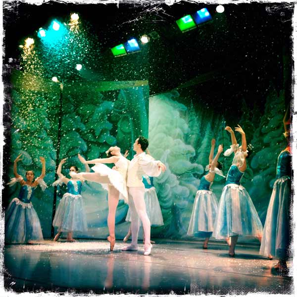 Dance photography of Nutcracker Ballet, CoastingAlongTheatre.org, Gibsons, BC, 2015