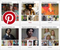 Join our Figurative Artist Pinterest team