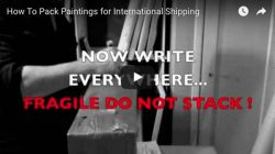 How To Pack Paintings for International Shipping, Ric Nagualero
