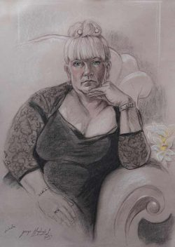 Jorge Goytizolo Lazo, exquisite drawings from life