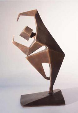 Jacob Chandler, abstract figurative sculpture