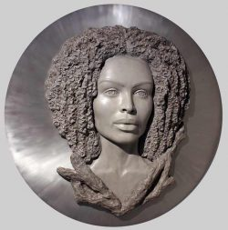 Denisa Prochazka, large relief sculptures, classical & contemporary materials