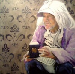 Tom Montan, painting the homeless