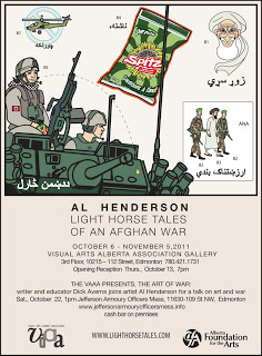 Al Henderson, War Art exhibition & talk