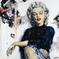 Sunny Choi, figure painting with a fashion style