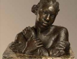 Mardie Rees figurative bronze sculpture winds major prize