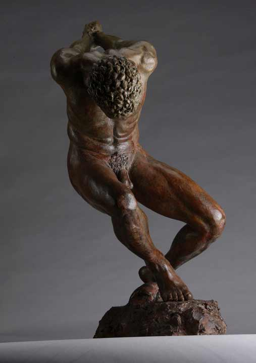Blake Ward, Guantanamo, male nude figurative sculpture