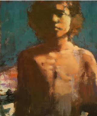 Martha-Wade-Moses1, contemporary figurative painting, young boy