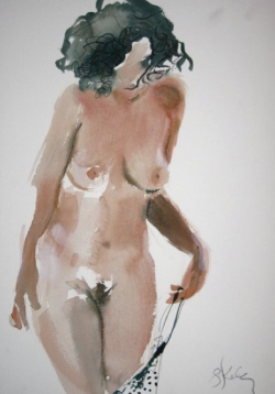 Gretchen Kelly, Boudoir drawings