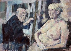 Tom Wood, 2 day life drawing sessions, UK