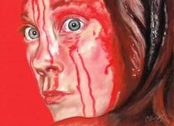 Chantal Handley, horror show in pastels