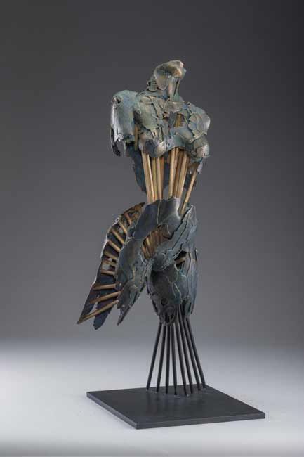 Blake Ward, figurative sculpture, Angel Tahere, Angel of Women's Rights