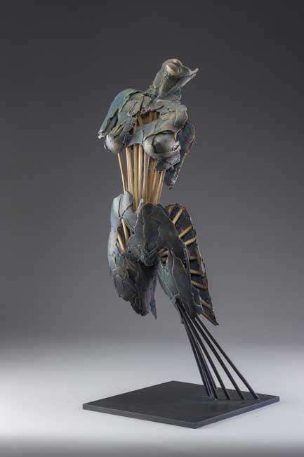 BlakeWard-dynamic-bronze-nude, Blake Ward, figurative sculpture, Angel Tahere, Angel of Women's Rights