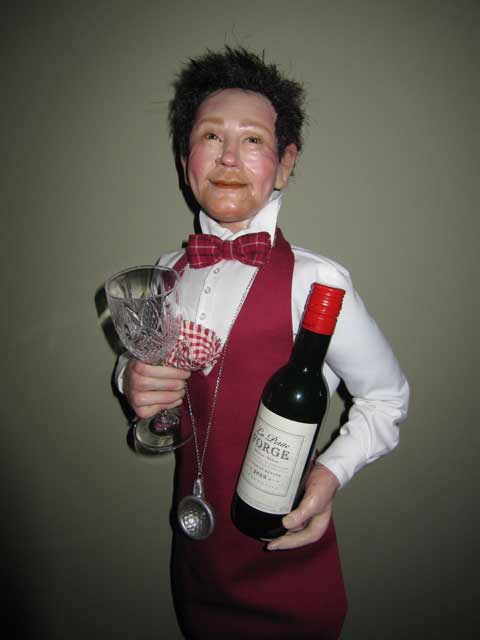 Maria_Saracino_waiter_wine_server_character doll
