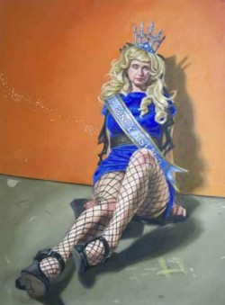 Kenneth Browne, Neo-Burlesque paintings