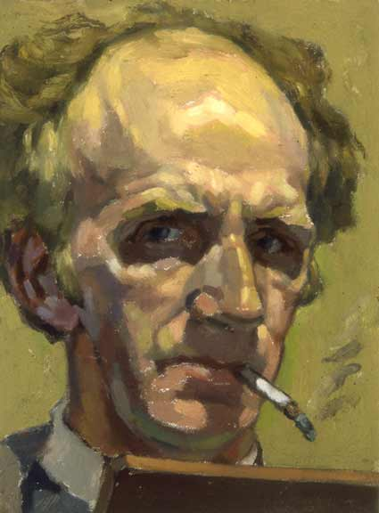 Cyril-Mann-Self-Portrait-Cigarette