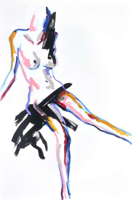 Tony-Heath-colourful-nude-painting