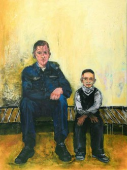 Soldier and Airman images by artist Shari Pratt