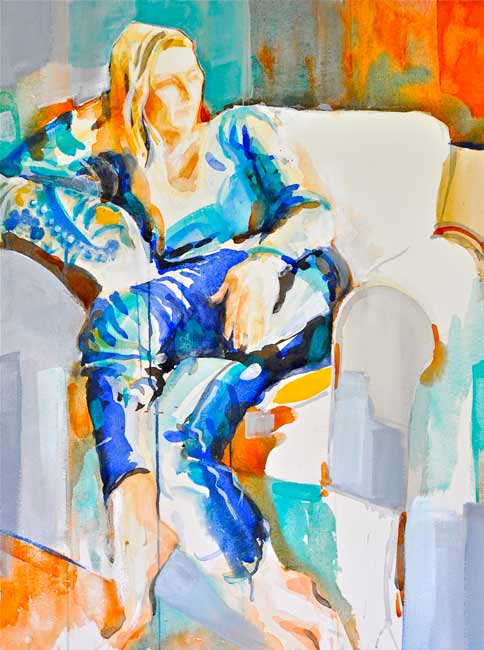 Elga-Dzirkalis-watercolor-woman2
