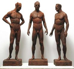 Sabin Howard, masterful figure sculpture, nude torso