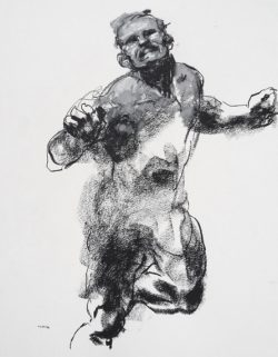 Derek Overfield – Bold life drawings of Olympic athletes