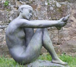 Christine Baxter, figurative sculpture in clay, wax, plaster