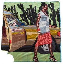 Billie Zangewa, fashioning portraits in silk
