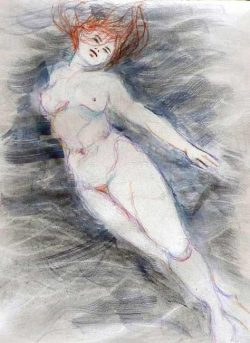 Marilyn Wylder, nude figure drawing & printmaking