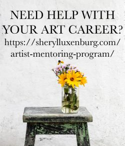 Sheryl Luxenburg, art career mentoring