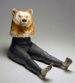 Austyn Taylor, humorist narrative, ceramic sculpture