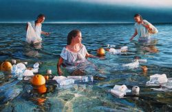 Mark Cross, South Pacific's leading contemporary realist painter