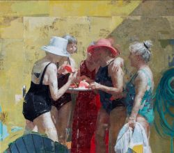 Zoey Frank, online figure painting classes